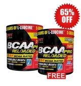 1+1 FREE BCAA PRO Reloaded 12:1:1 114 г / 10 дози