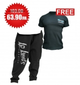 1+1 FREE LEGAL POWER BODY PANTS BOSTON BLACK + 4FITNESS BG T-Shirt Black