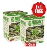 1+1 FREE MILITARY Force Pack - 100 капсули