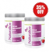 2X BCAA RECOVERY 8:1:1 / 45 дози / 621 грама 35% OFF