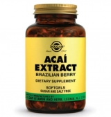 Acai Extract Brazilian Berry,60 softgels