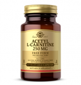 Acetyl L-Carnitine 250 mg / 30 Vegetable Capsules