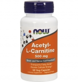 Acetyl L-Carnitine 500 мг / 50 капсули