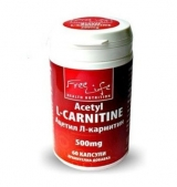 Acetyl L-Carnitine 500 mg / 60 caps