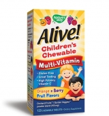 Alive Children's Multi-Vitamin Chewable 120 таблетки