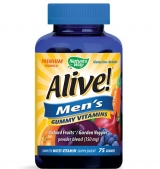 Alive Men's Gummy Vitamins 150 мг / 75 желирани таблетки