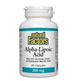 Alpha Lipoic Acid 200 мг / 60 капсули