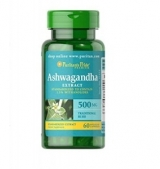 Ashwagandha extract 500mg 60caps.