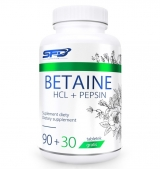 Betaine HCL + Pepsin - 120tabs