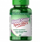 Blood Sugar Specifics with Cinnamon & Chromium 60 капсули