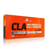 CLA with Green Tea plus L-Carnitine Sport Edition / 60 капсули