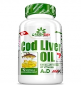 Greenday Cod Liver Oil / 90 гел капсули
