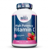 High Potency Vitamin C 1,000 мг with Rose Hips 100 таблетки