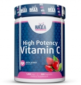 High Potency Vitamin C 1,000 мг with Rose Hips 250 капсули