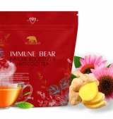 IMMUNE BEAR IMMUNE BOOSTING & ANTI - COLD TEA 160 гр / 50 дози