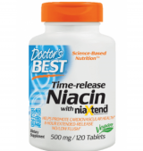 Niacin Time-Released With Niaxtend 500 мг / 120 таблетки