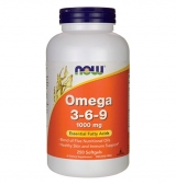 Omega 3-6-9 / 1000 мг / 250 гел капсули