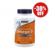Omega 3 Fish Oil 1000 мг / 200 гел капсули