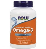 Omega 3 Fish Oil 1000 мг / 500 гел капсули