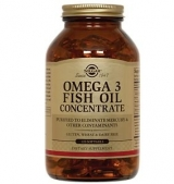 Omega-3 Fish oil Concentrate 1000 mg,120 softgel