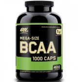 BCAA Mega-Size 1000 мг / 400 капсули