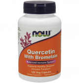 Quercetin with Bromelain 120 капсули