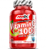Vitamin C /with Rose Hips/ 1000 мг / 100 капсули