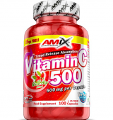 Vitamin C /with Rose Hips/ 500 мг / 125 капсули