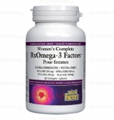 Women's Complete RxOmega-3 Factors 1035 мг / 60 гел капсули