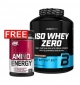 PROMO 1+1 FREE BIOTECH USA Iso Whey ZERO + OPTIMUM NUTRITION Amino Energy