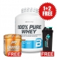 PROMO 1+2 FREE 100% Pure Whey 2270 g + Charge Pre-Workout 30 serv + Shaker