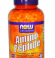 NOW Amino Peptide 400 мг / 300 капсули
