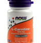 NOW L-Carnitine 500 мг - 30 капсули
