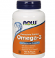 NOW Omega 3 Fish Oil 1000 мг / 100 гел капсули