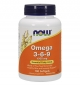 NOW Omega 3-6-9 / 1000mg. / 100 гел капсули